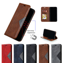 Untuk Xiaomi 10 9T CC9E 9 Redmi 6 7 7A 8 8A Note7 Note 8 9S K20 Pro max Magnetic Case Kulit Flip Dompet Stand Cover Telepon Kasus(China)