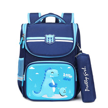 2020 Waterproof children school bags For Boys amp Girls kids backpacks Children Schoolbags primary School Backpacks Mochila Infantil cheap ZIRANYU NYLON zipper 0 7kg polyester 43cm Cartoon MM2042 unisex 21cm 32cm