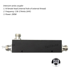 150MHz Cavity Coupler VHF Frequency 136-174MHz Intercom System N-F Power 200W