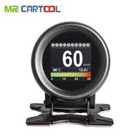 MR CARTOOL M3 Car OBD2 HUD Head Up Display GPS Speedometer Overspeed Warning Oil Water Temp Gauge Digital OBD2 Diagnostic Tool