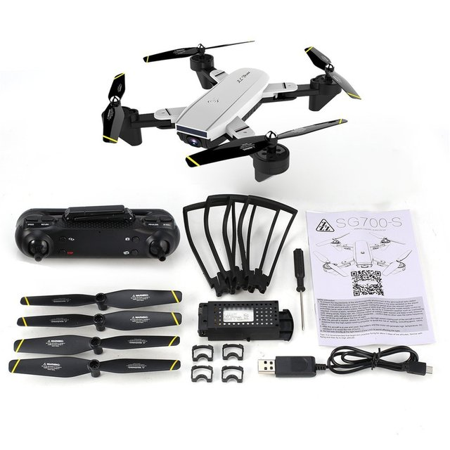SG700 SG700-D SG700-S Drone 1600mAh With Camera  4K HD camera Drone  profissional drone quadrocopter helicoptero toysRC Helicopters