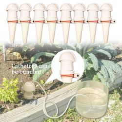 8 sztuk System nawadniania kropelkowego automatyczne podlewanie Spike dla roślin ogród podlewanie System System nawadniania automatyczne narzędzie do podlewania