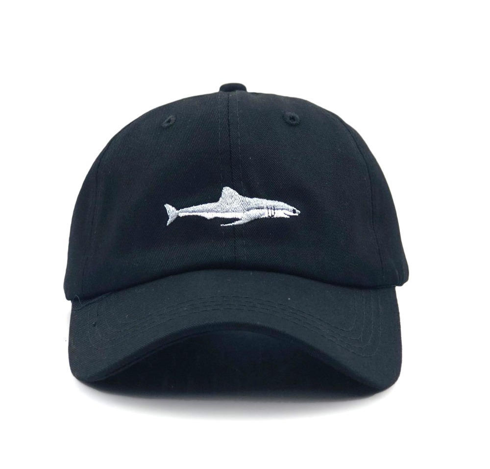 H50b030952ec14f41a5c3b3666c118c55n - which in shower stitched shark snapback man cap baseball cap hip hop embroidery curved strapback dad hat summer fish sun hat cap