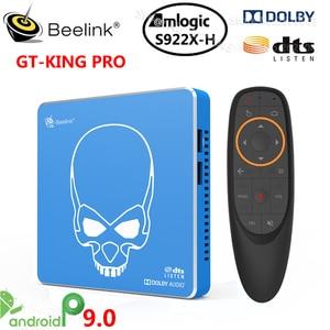 Image 1 - Beelink GT KING PRO Amlogic S922X Hสมาร์ทAndroid 9.0 TV Box 4GB DDR4 64GB ROM Dolby DTSฟัง4K HD Hi Fi Media Player