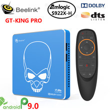 Beelink GT-KING PRO Amlogic S922X-H Smart Android 9,0 TV Box 4GB DDR4 64GB ROM Dolby Audio DTS Hören 4K HD Hallo-fi Media Player(China)