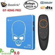 Beelink GT KING PRO Amlogic S922X H inteligentny Android 9.0 TV, pudełko 4GB DDR4 64GB ROM Dolby Audio DTS słuchaj 4K HD Hi Fi odtwarzacz multimedialny
