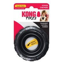 S-tamanho kong pneus cão brinquedo