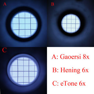 Image 3 - ETone 6x المكبر الزجاج الأرض تركز العدسة Lupe 4x5 8x10 كبير تنسيق كاميرا غرفة مظلمة أدوات