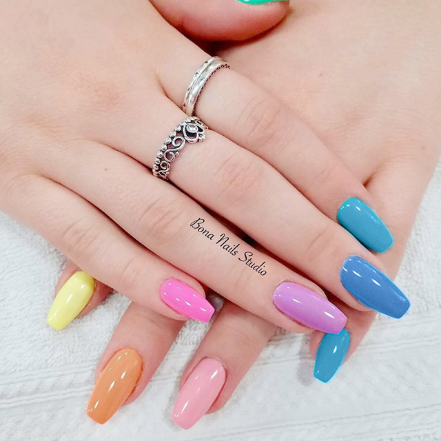 1 Bottle 8ml MAD DOLL Spring Series Gel Polish Color Nail Gel Soak Off LED UV Gel Varnish Nail Art DIY Nail Art Design 4