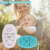 Special Outdoor Ultrasonic Mosquito Repellent Halter Mosquito Repellent Home Tools Gift For Children 5.24 2032 Cell Battery|  -