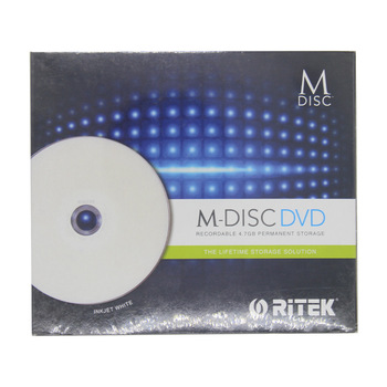 Wholesale 10 pcs 4.7 gb Printable DVD M-Discs with Storage Duration of Up to 1000 Years.