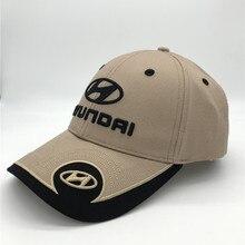 Новинка, бейсболка с вышитым логотипом HYUNDAI, регулируемая бейсболка с капюшоном для мужчин и женщин