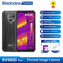 Blackview BV9800 Pro Thermal Smartphone 48MP Camera Waterproof P70 Octa Core Android 9.0 6GB+128GB Wireless Charge Rugged Phone