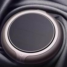 Araba hava temizleyici araç ev oksijen Bar yok gürültü güneş enerjisi filtre temizleyici arındırmak yüksek hızlı Ionizer anyon hava temizleyici