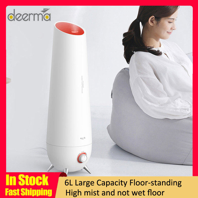 2020 Xiaomi Deerma LD610 6L Air Humidifier Ultrasonic Aromatherapy Air Diffuser Cool Mist Air Humidifier Household Low Noise