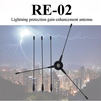 Nagoya RE-02 Antenna UHF-F 10-1300MHz Nagoya Antenna Ground Redical for Car Mobile Radio Strengthen Omnidirectional Antenna