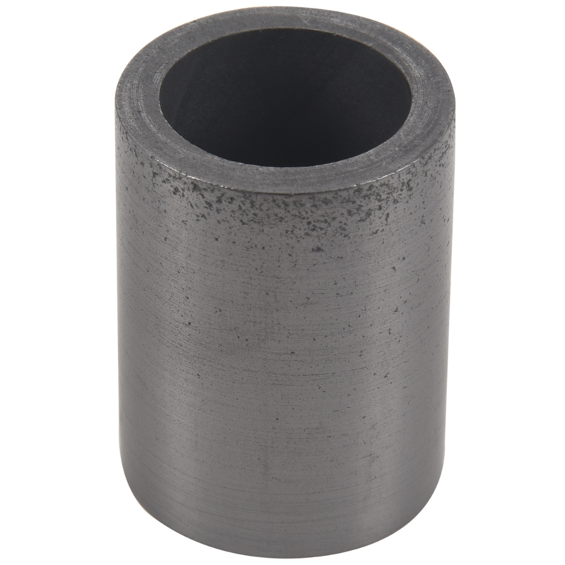 Pure Graphite Crucible Cup Propane Torch Melting Gold Silver Copper Metal Black