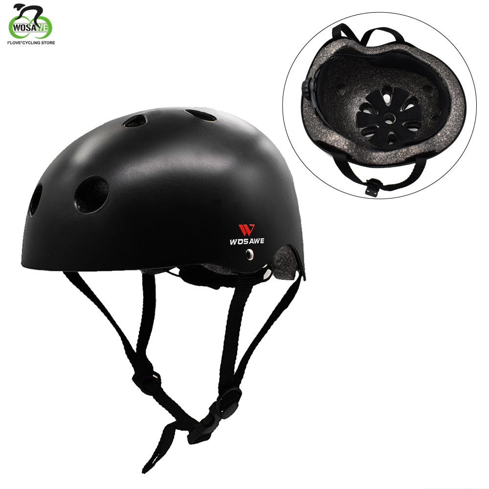 WOSAWE Outdoor Sports Helmet Bicycle Cycling Safety Protect Helmet skating skateboard Outdoor Adult Children Protective Helmet in Bicycle Helmet from Sports Entertainment