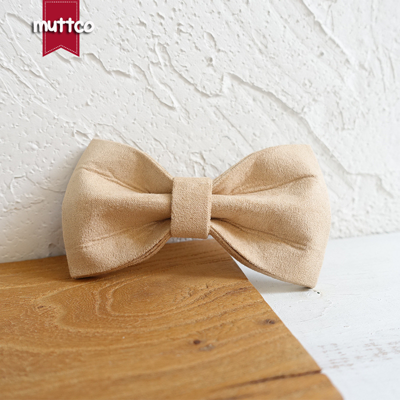 Muttco Origional Handmade Pet Bow Bowtie Dog Neck Ornaments Supplies Ubt-027