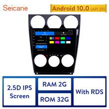 Seicane 2GB RAM Android 10.0 Car GPS Navigation Radio Stereo Unit Player for Old Mazda 6 2004 2005 2014 2015 Support DAB+ OBD2