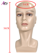 Manikin Mannequin Wig Scarf Glasses Hat Cap Display Stand Male Head Model