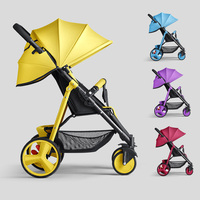 Ultra light Baby Stroller Portable Light weight High Quality Easy Folding Newborn Carriage On The Plane Stroller Mom Assistant
