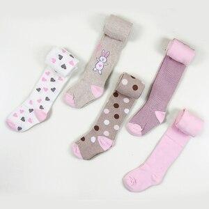 2 предмета, новые колготки для девочек детские колготки на весну и осень детские колготки до колена хлопковые колготки с красивым принтом