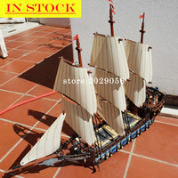 22001 In Stock Ship Ideas Collection The Imperial Flagship The Caribbean Ship 1717Pcs 10210 Model Building Blocks Bricks Toy