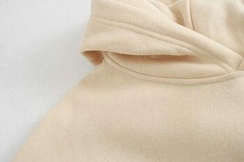 toppies Loose Oversize Hoodies Woman Sweatshirt autumn winter Female fleece hoodies 2020 women Sweat-shirts 5