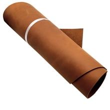 Оранжевый коричневый натуральный Crazy Horse кожа коровья кожа натуральная кожа для Diy Leather Craft
