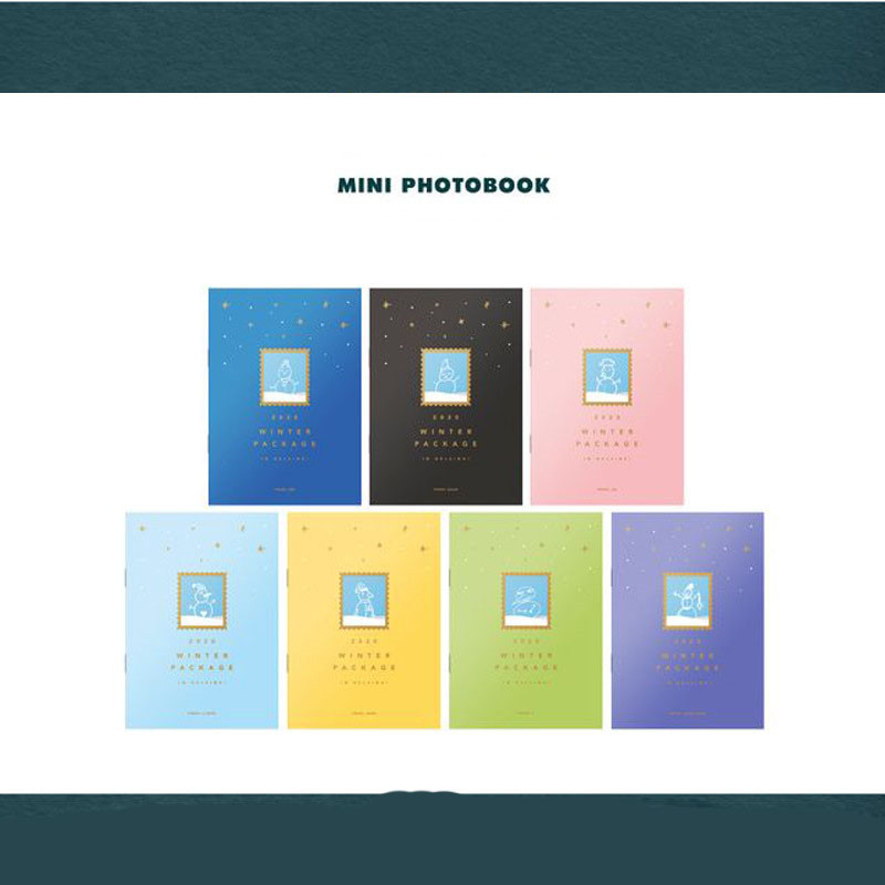 KPOP 18 pages Bangtan Boys 2020 Winter Package Album Book F65