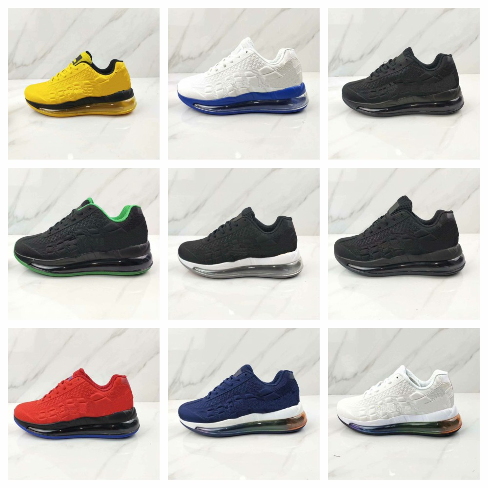 New 2020 95 men's running shoes 720 men's black and white red and yellow men's sneaker plus size 40-46 image