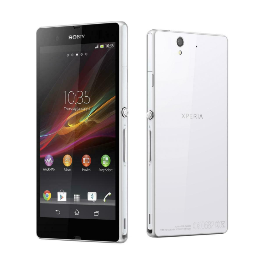 New Original  6.4 Inch Sony Xperia Z Ultra C6833 XL39h 4G Mobile Phone Snapdragon 2GB 16GB 16MP 8MP 3050mAh NFC Android Phone