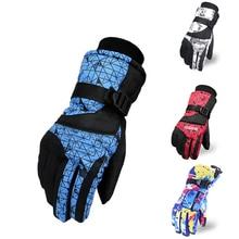 New Snowboard Ski Gloves Women/Men Snowmobile Motorcycle Riding Winter Windproof Waterproof Unisex Snow