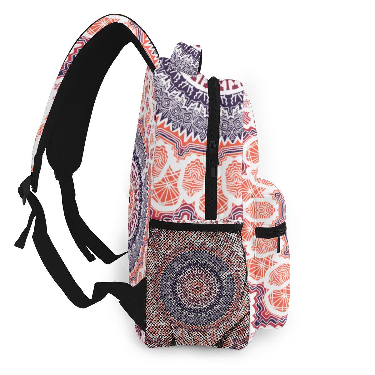 Indian Chief Logo Bag Unisex Leisure School Leisure Shoulder Backpack