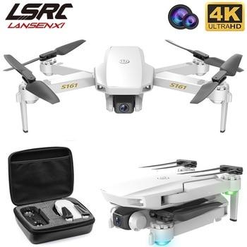 Nowy RC drone S161 optyczne pozycjonowanie przepływu 4K HD podwójny obiektyw profesjonalna fotografia lotnicza składany Quadcopter zabawki dla chłopca prezent
