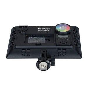 Image 3 - YONGNUO YN300AIR II RGB LED Kamera Video Licht, Optional Batterie mit Ladegerät Kit Fotografie Licht + AC adapter