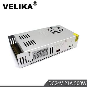 Image 2 - אחת פלט 12V 24V 36V 48V 500W ספק כוח שנאי 110V 220V AC כדי DC מקור כוח נהג עבור Led אור CCTV צעד