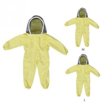 Profesjonalny kombinezon ochronny dla dzieci anty pszczoła dla dzieci oddychająca odzież pszczelarska E7 tanie i dobre opinie Swokii CN (pochodzenie) Other