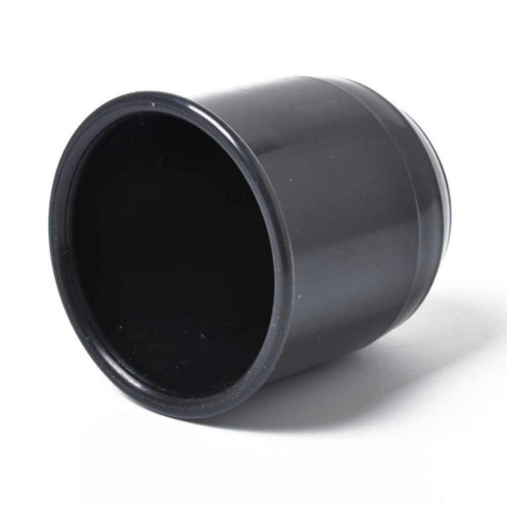 1 قطعة 50 مللي متر سيارة طوف طوف غطاء أسود سحب الكرة سحب الغطاء الواقي ل RV شاحنة تخييم 2.4x2.4x2.6 بوصة اكسسوارات السيارات