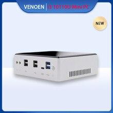Sıcak 10th Intel i3 10110U minik durumda Mini PC çekirdek 7020U 8145U i5 7267U SD kart yuvası tip-c USB3.1 ofis masaüstü taşınabilir bilgisayar