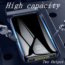 2019 New Arrivals Power Bank  Portable Real 20000 MAh for All Smart Phone Battery Powerbank Fast Charging External Battery