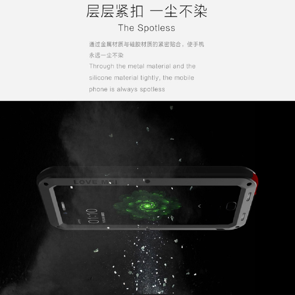 Image 4 - LOVE MEI Phone Case for OPPO R9s Plus Armor Sports Outdoor Aluminum Metal Hard  Protection Cover for OPPO R9 Plus Tempered Glass-in Fitted Cases from Cellphones & Telecommunications