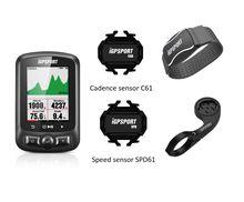 IGPSPORT ordinateur cycliste GPS avec moniteur de fréquence cardiaque IGS618