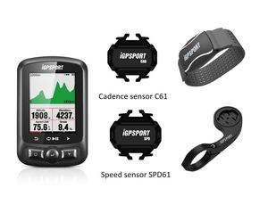 Image 1 - iGPSPORT IGS618 GPS Cycling Computer with Heart Rate Monitor