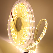 Wasserdicht DC12V 5050 SMD RGB RGBW WW LED Streifen Licht flexible Streifen Licht 60Leds/m Led Band Home decor Lampe Auto Lampe Dekoration(China)