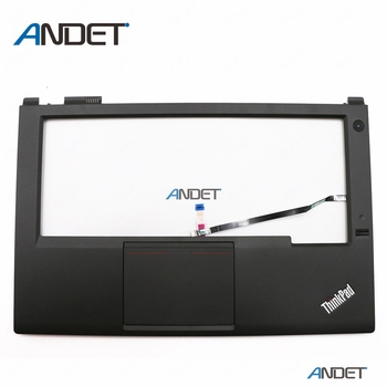 New Original for Lenovo ThinkPad T440P Palmrest Keyboard Bezel Cover Upper Case with Touchpad Fingerprint Reader FPR 04X5394