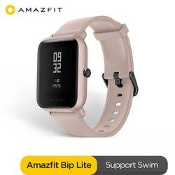 Оригинальные Amazfit Bip Lite глобальная Версия смарт-спортивные часы с длительным сроком службы батареи 3ATM умные часы для Android IOS Phone