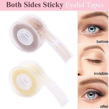 600 Pcs S/L Eyelid Correction Tape Sticker Invisible Double Fold Eyelid Paste Clear Self-adhesive Natural Eye Tape Eyelid Tools 1