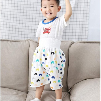 Waterproof Children Diaper Skirt Shorts